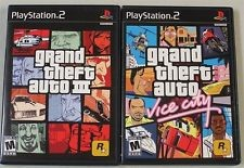 SONY PLAYSTATION 2 GRAND THEFT AUTO DOUBLE PACK **FACTORY SEALED**
