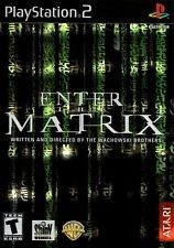 SONY Sony PlayStation 2 Game ENTER THE MATRIX
