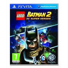 SONY Sony PS VITA Game LEGO BATMAN 2 DC SUPER HEROS PSVITA