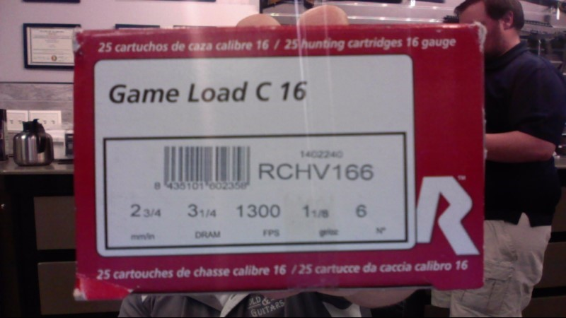 RIO Ammunition GAME LOAD C16