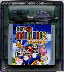NINTENDO Vintage Game GAMEBOY COLOR SUPER MARIO BROS DELUXE