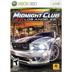 MICROSOFT XBOX 360 Game MIDNIGHT CLUB LOS ANGELES COMPLETE - XBOX 360