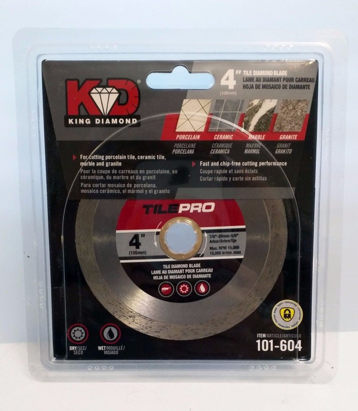 KINGDOM TAPES AND ELECTRONICS Tile Cutter DIAMOND 101-604
