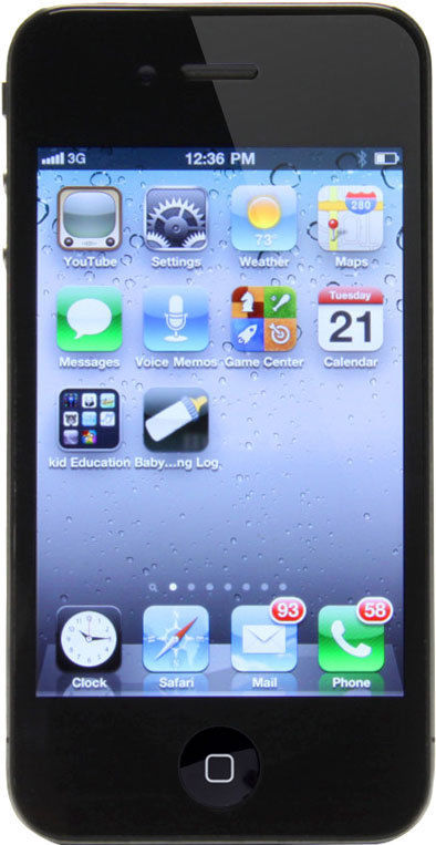 APPLE Cell Phone/Smart Phone IPHONE 4 MC676LL/A 16GB - VERIZON