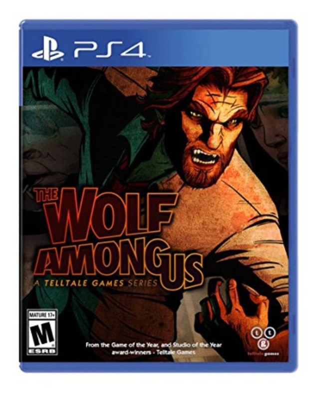 SONY Sony PlayStation 4 Game THE WOLF AMONG US - PS4