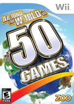 NINTENDO Nintendo Wii Game AROUND THE WORLD IN 50 GAMES WII
