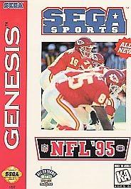 SEGA Sega Game SEGA SPORTS NFL 95