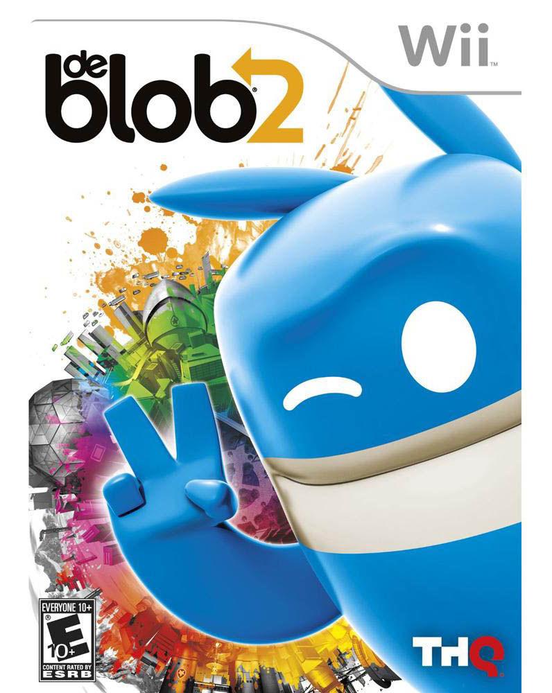 NINTENDO Nintendo Wii Game DE BLOB 2