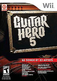 NINTENDO Nintendo Wii Game GUITAR HERO 5