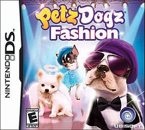 NINTENDO Nintendo DS Game PETZ DOGZ FASHION DS