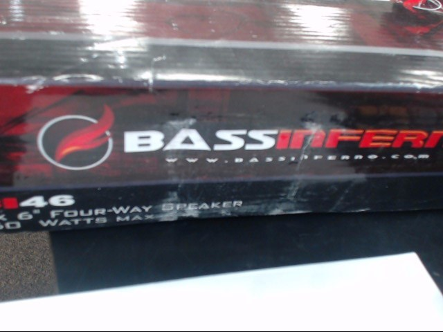 BASS INFERNO Speakers B146