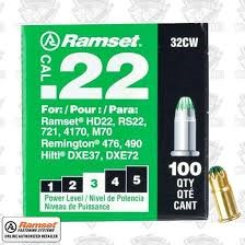 RAMSET Ammunition 32CW