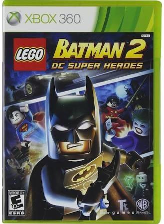 MICROSOFT XBOX 360 Game LEGO BATMAN 2 DC SUPER HEROES
