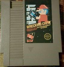 NINTENDO Nintendo NES Game WRECKING CREW