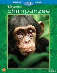 BLU-RAY MOVIE Blu-Ray CHIMPANZEE - DISNEYNATURE