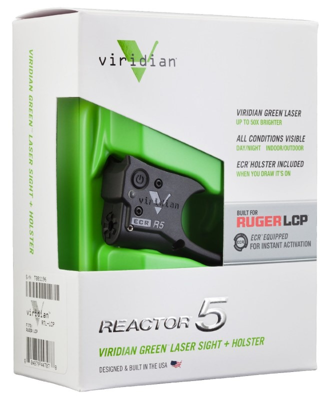 VIRIDIAN Accessories REACTOR 5 RUGER LCP