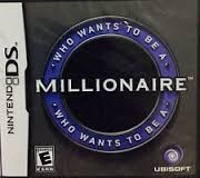 NINTENDO Nintendo DS Game WHO WANTS TO BE MILLIONAIRE DS