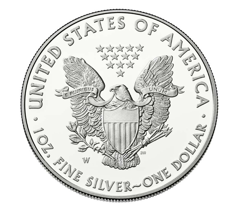 UNITED STATES Silver Coin AMERICAN EAGLE SILVER PROOF