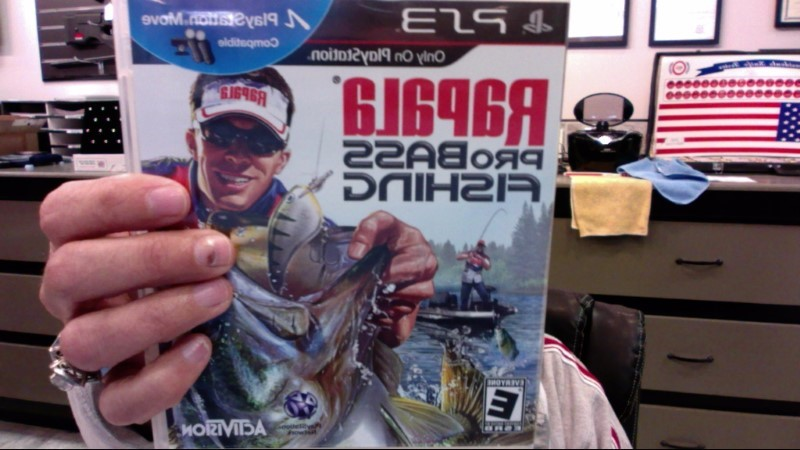 SONY Sony PlayStation 3 Game PS3 RAPALA PRO BASS FISHING
