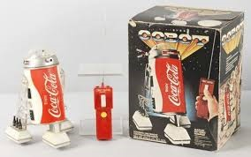 COCA COLA Collectible Plate/Figurine COBOT
