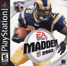 SONY Sony PlayStation Game MADDEN 2003 PS1