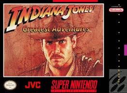 NINTENDO Nintendo SNES Game INDIANA JONES GREATEST ADVENTURES SNES