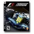 SONY Sony PlayStation 3 Game FOMRULA 1 CHAMPIONSHIP EDITION
