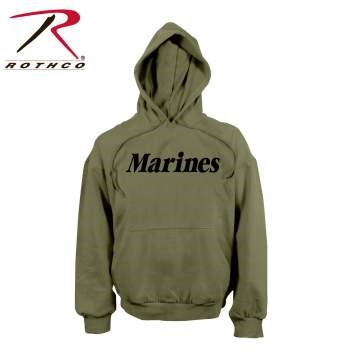 ROTHCO Sweats/Hoodie MARINES PULLOVER HOODED SWEATSHIRT
