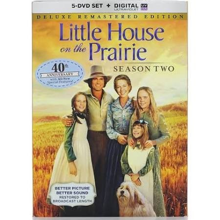 DVD BOX SET DVD LITTLE HOUSE ON THE PRAIRIE SEASON TWO