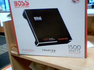BOSS Car Amplifier PHANTOM PH1500M