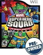 NINTENDO Nintendo Wii Game MARVEL SUPERHERO SQUAD THE INFINITY GAUNTLET GAME