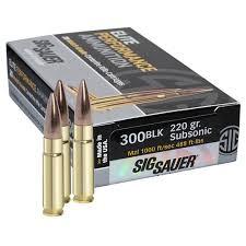 SIG SAUER Ammunition E300A2