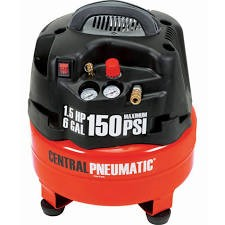 CENTRAL PNEUMATIC Air Compressor 62380