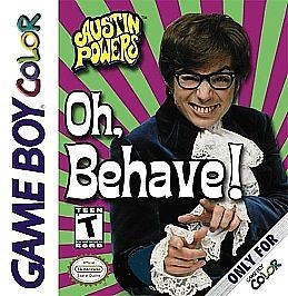 NINTENDO Vintage Game AUSTIN POWERS OH BEHAVE! GAME BOY COLOR