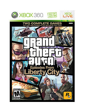 MICROSOFT Microsoft XBOX 360 Game GRAND THEFT AUTO EPISODES FROM LIBERTY CITY