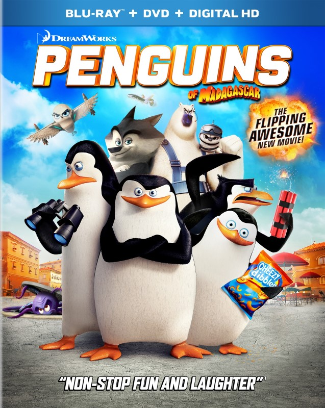 BLU-RAY PENGUINS OF MADAGASCAR