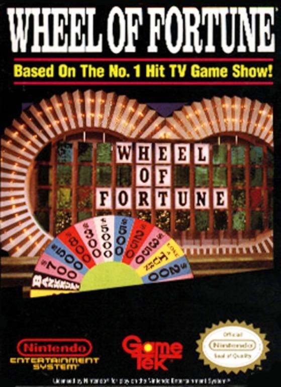 NINTENDO Nintendo NES Game WHEEL OF FORTUNE NES