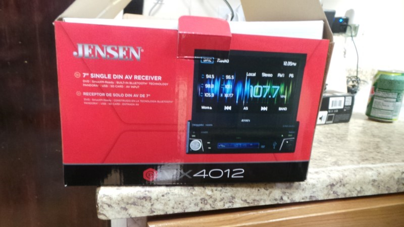 JENSEN Car Audio VX4012