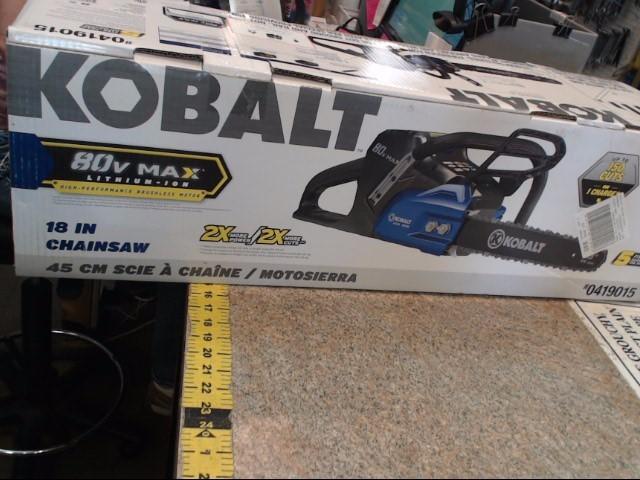 KOBALT TOOLS Chainsaw 0419015