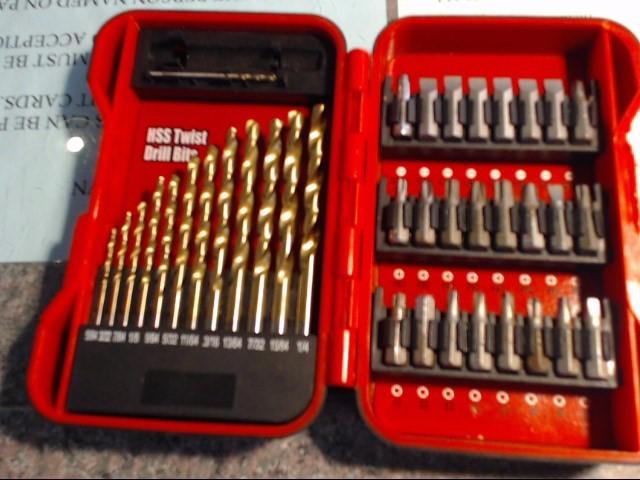 ULTRA STEEL Drill Bits/Blades 38 PIECE DRIVER AND DRILL BIT SET
