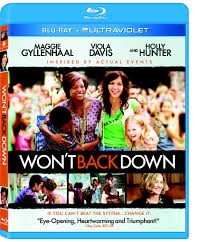 20TH CENTURY FOX Blu-Ray WONT BACK DOWN