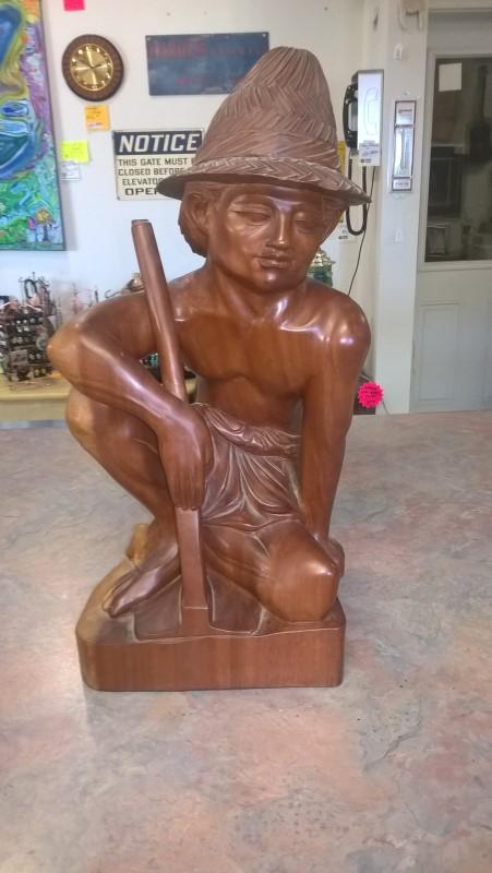 Sculpture/Carving LARGE INDONESIAN SCULPTURE
