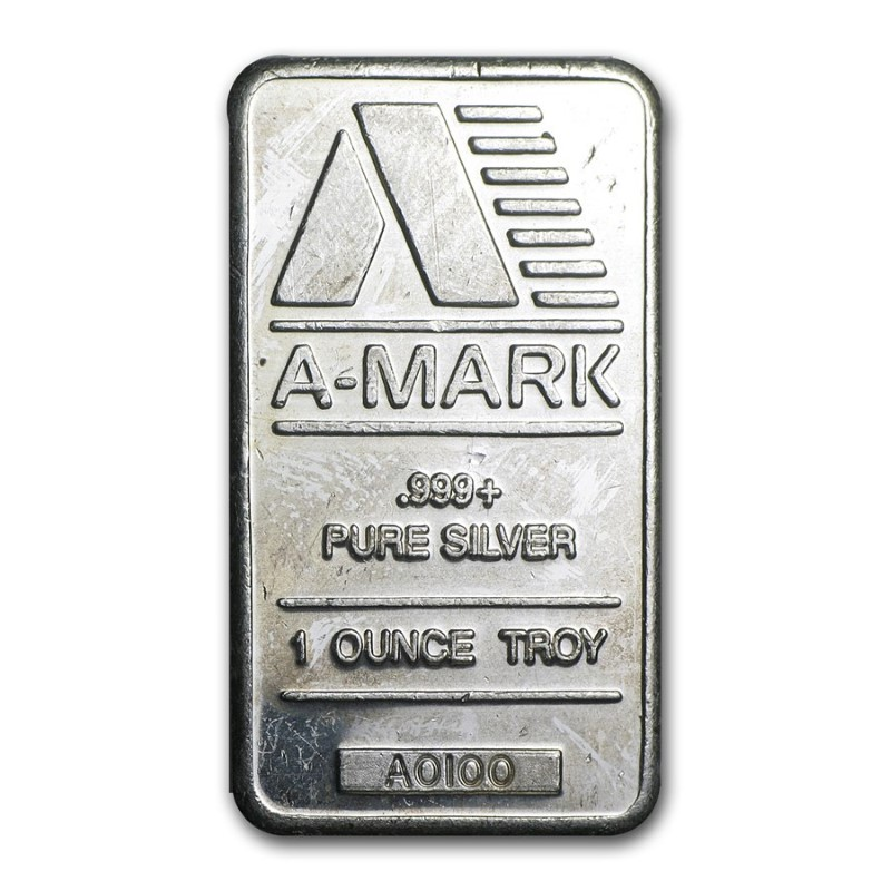 A-MARK Silver Bullion 1 OUNCE TROY - SILVER BAR
