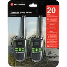 MOTOROLA 2 Way Radio/Walkie Talkie MD200R
