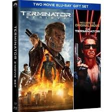BLU-RAY MOVIE THE TERMINATOR - TERMINATOR GENISYS TWO MOVIE SET