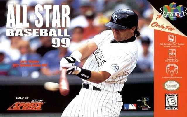 NINTENDO Nintendo 64 Game ALL-STAR BASEBALL 99 NINTENDO 64