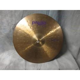 "PAISTE Cymbal POWER RIDE 20"""