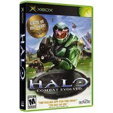 MICROSOFT Microsoft XBOX Game HALO COMBAT EVOLVED