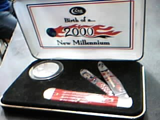 CASE KNIFE Pocket Knife NEW MILLENNIUM KNIFE
