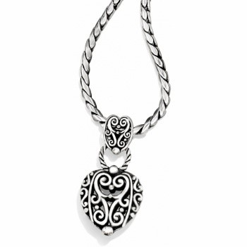 BRIGHTON Fashion Accessory BIBI HEART NECKLACE
